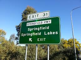 springfield lakes sign